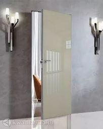 Скрытая межкомнатная дверь ProfilDoors 1LK Галька люкс ABS