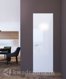 Скрытая межкомнатная дверь ProfilDoors 1LK Белый люкс ABS