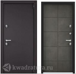 Дверь входная стальная Торэкс Snegir 55 бетон серый