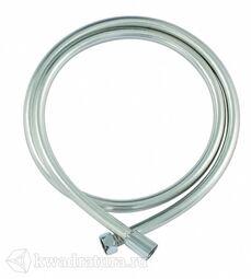 Душевой шланг Bravat серебристый ПВХ 200см с защитой от перекручивания