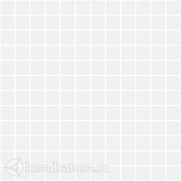 Керамическая мозаика Темари белый матовый 29.8x29.8