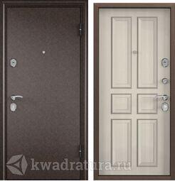Дверь входная стальная Торэкс Delta М 10 Бел перламутр СК62