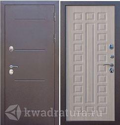 Входная дверь Феррони Изотерма медный антик лиственница