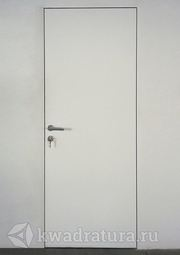 Скрытая межкомнатная дверь ProfilDoors 0Z грунтованная под покраску