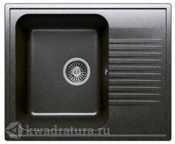 Кухонная мойка Polygran F-07 Черная